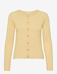 Wool & cashmere cardigan - LIGHT VANILLA YELLOW