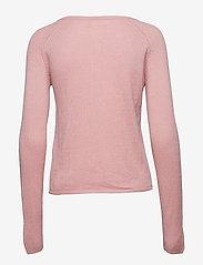 Rosemunde - Wool & cashmere cardigan ls - koftor - zephyr rose - 2