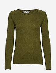 Rosemunde - Wool & cashmere pullover ls - kashmir - leaf green - 0