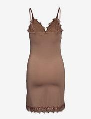Rosemunde - Strap dress - korte kjoler - nougat brown - 1