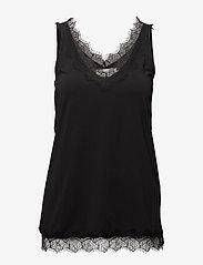 Rosemunde - Top - ermeløse bluser - black - 0