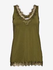 Rosemunde - Top - ermeløse bluser - leaf green - 0