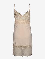 Rosemunde - Strap dress - bodies & slips - whisper beige - 1