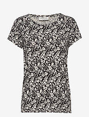 Rosemunde - T-shirt ss - t-shirts - ivory small floral print - 0