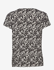 Rosemunde - T-shirt ss - t-shirts - ivory small floral print - 1