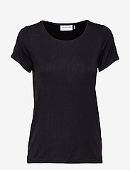 Rosemunde - T-shirt ss - t-shirts - black - 0