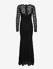 Rosemunde - Dress ls - kveldskjoler - black - 1