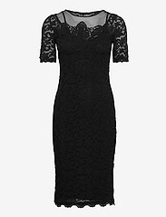 Rosemunde - Dress ss - bodycon-kjoler - black - 0