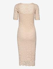 Rosemunde - Dress ss - bodycon-kjoler - whisper beige - 1