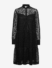 Rosemunde - Dress ls - cocktail-kjoler - black - 0