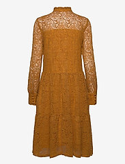 Rosemunde - Dress ls - cocktail-kjoler - golden mustard - 1