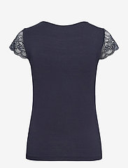 Rosemunde - T-shirt ss - t-shirts - blueberry - 1