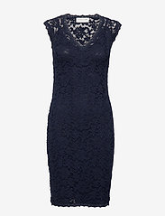 Rosemunde - Dress ss - bodycon jurken - navy - 0