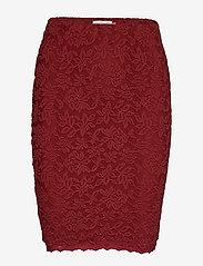 Rosemunde - Skirt - kort skjørt - burnt red - 0