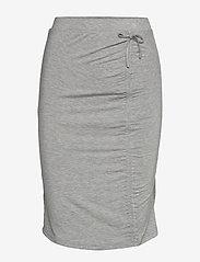 Rosemunde - Skirt - midi - light grey melange - 2