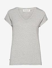 T-shirt ss - LIGHT GREY MELANGE