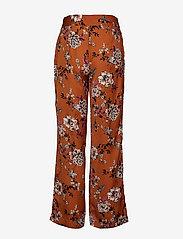 Rosemunde - Trousers - bukser med brede ben - mocha blossom print - 1
