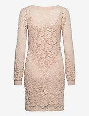 Rosemunde - Dress ls - bodycon-kjoler - warm pearl - 1