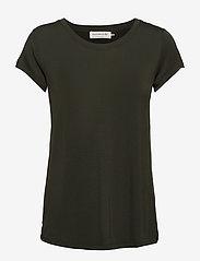 T-shirt ss - BLACK GREEN