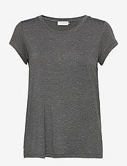 T-shirt ss - DARK GREY MELANGE