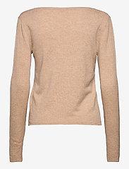 Rosemunde - Pullover ls - tröjor - beige melange - 1