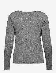 Rosemunde - Pullover ls - tröjor - medium grey melange - 1