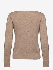 Rosemunde - Pullover ls - tröjor - walnut melange - 1