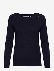 Rosemunde - Pullover ls - tröjor - navy - 0