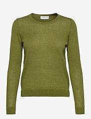 Rosemunde - Merino pullover ls - truien - seaweed - 0