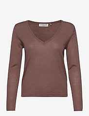 Rosemunde - Merino pullover ls - truien - dusty plum - 0