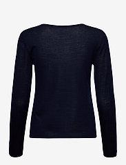 Rosemunde - Merino pullover ls - truien - navy - 1