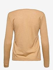 Rosemunde - Merino pullover ls - tröjor - pure camel - 1