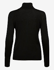Rosemunde - Pullover ls - turtlenecks - black - 1