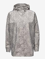 Rosemunde - Cape - regenkleding - dove lace print - 1