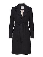 Coat ls - BLACK