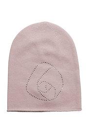 Hat w/rose - VIOLET ICE