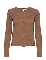 Wool & cashmere cardigan ls - ACORN