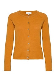 Wool & cashmere cardigan ls