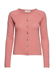 Cardigan ls - PINK BLUSH