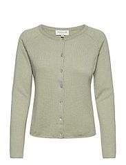 Wool & cashmere cardigan ls