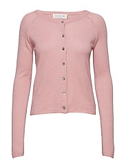 Wool & cashmere cardigan ls - ZEPHYR ROSE