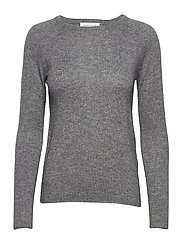 Pullover ls - MEDIUM GREY MELANGE