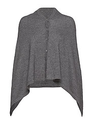 Poncho - MEDIUM GREY MELANGE