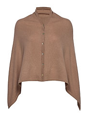 Poncho - NOUGAT BROWN
