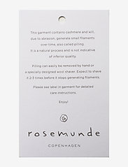 Rosemunde - Poncho - kaszmir - whisper beige - 2