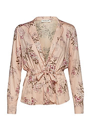 Blouse ls - ROSE FAIRY FLOWERS PRINT
