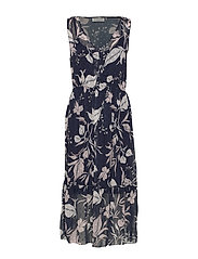 Dress - BLUE LILY POETRY PRINT