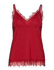 Strap top - DEEP RED