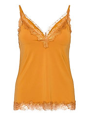 Strap top - GOLDEN MUSTARD