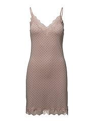 Strap dress - VINTAGE DOT PRINT
